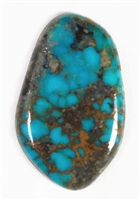 NATURAL MORENCI TURQUOISE CABOCHON 23.5 cts
