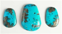 NATURAL MORENCI TURQUOISE MATCHED PAIR 71 cts.
