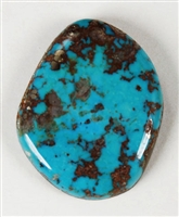 NATURAL MORENCI TURQUOISE CABOCHON 39.5cts