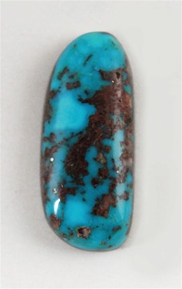 NATURAL MORENCI TURQUOISE CABOCHON 12cts
