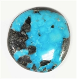 NATURAL MORENCI TURQUOISE CABOCHON 14 cts