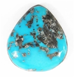 NATURAL MORENCI TURQUOISE CABOCHON 17.5 cts