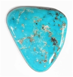 NATURAL MORENCI TURQUOISE CABOCHON 26.5 cts