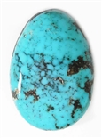 NATURAL MORENCI TURQUOISE CABOCHON 22.5 cts