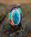 "VICTOR GABRIEL TURQUOISE 14K GOLD RING<SPAN style=""COLOR: #ff0000; FONT-WEIGHT: bold"">*SOLD*</SPAN></SPAN>"