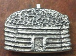 Gary Custer tufa cast belt buckle.