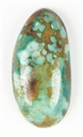 NATURAL BLUE GEM TURQUOISE CABOCHON 12 cts