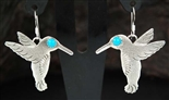 BRAD PANTEAH HUMMINGBIRD EARRINGS