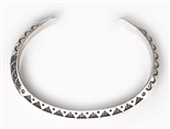 HENRY CALLADITTO SILVER BRACELET GUARD