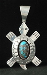 DANNY JACKSON SHADOW BOX TURTLE PENDANT