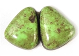 BEAUTIFUL GASPEITE MATCHED PAIR 8.5 CTS
