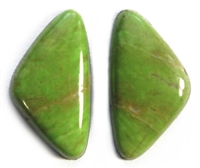 BEAUTIFUL GASPEITE MATCHED PAIR 13 CTS