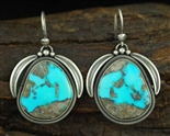 JACOB MORGAN MORENCI TURQUOISE EARRINGS