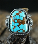 JACOB MORGAN #8 TURQUOISE RING