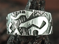 KEE YAZZIE BEAR DESIGN RING