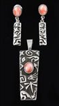 KEE YAZZIE LOVELY PACIFIC PINK CORAL SET