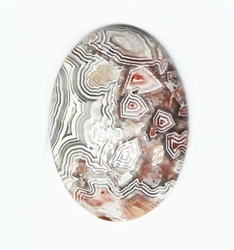 BEAUTIFUL MEXICAN LACE AGATE CABOCHON 15 cts