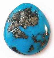 NATURAL MORENCI TURQUOISE CABOCHON 16 cts