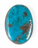 NATURAL MORENCI TURQUOISE CABOCHON 11.5cts