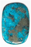 NATURAL MORENCI TURQUOISE CABOCHON 78 cts