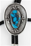 DARRYL DEAN BEGAY MORENCI TURQUOISE BOLO
