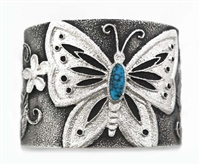 BEAUTIFUL REBECCA BEGAY BUTTERFLY BRACELET