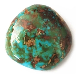 NATURAL ROYSTON TURQUOISE CABOCHON 33cts