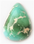 NATURAL ROYSTON TURQUOISE CABOCHON 19.5cts