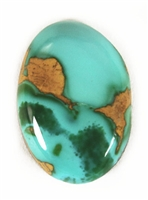 NATURAL ROYSTON TURQUOISE CABOCHON 9.5cts