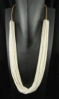 BEAUTIFUL VAL CORIZ CLAM SHELL NECKLACE