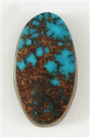 NATURAL PILOT MOUNTAIN TURQUOISE CABOCHON 7cts
