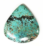 NATURAL PILOT MOUNTAIN TURQUOISE CABOCHON 24 cts