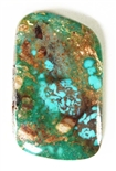 NATURAL PILOT MOUNTAIN TURQUOISE CABOCHON 30 cts