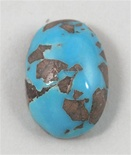 3.5ct PERSIAN TURQUOISE CAB