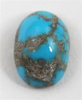 5ct PERSIAN TURQUOISE CAB