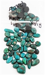 NATURAL AJAX TURQUOISE CABOCHONS 270 cts