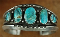 BEAUTIFUL #8 TURQUOISE ROW BRACELET