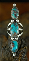 BEAUTIFUL VINTAGE BISBEE TURQUOISE RING