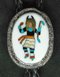 RARE ELLIOT QUALO BUFFALO DANCER BOLO