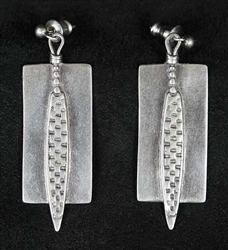 MODERNIST KAY BEGAY RODGERS EARRINGS