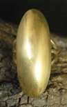 ORVILLE TSINNIE BRASS DOME RING