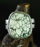 STEVE YELLOWHORSE NEW LANDERS TURQUOISE RING