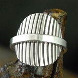 STEVE YELLOWHORSE LOVELY STERLING SILVER RING