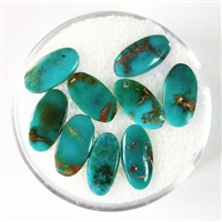 NATURAL BLUE GEM TURQUOISE CABOCHON 4 cts