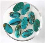 NATURAL BLUE GEM TURQUOISE CABOCHON 5.5 cts