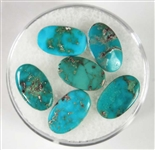 NATURAL BLUE GEM TURQUOISE CABOCHON 5 cts