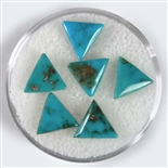 NATURAL BLUE GEM TURQUOISE CABOCHON 3 cts