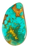 NATURAL PILOT MOUNTAIN TURQUOISE CABOCHON 16 cts