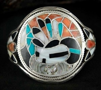 FRANK VACIT RAIN PRIEST CHANNEL INLAY BRACELET