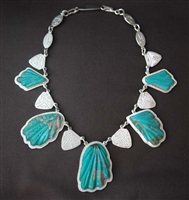 LEEKYA DEYUSE AND DARRYL BEGAY NECKLACE